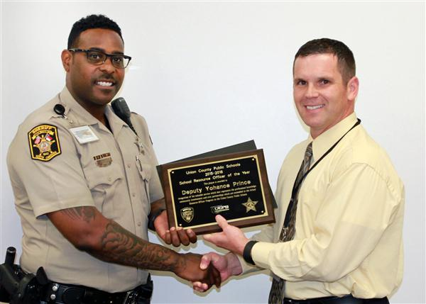 SRO of the year believes building a rapport with students is vital