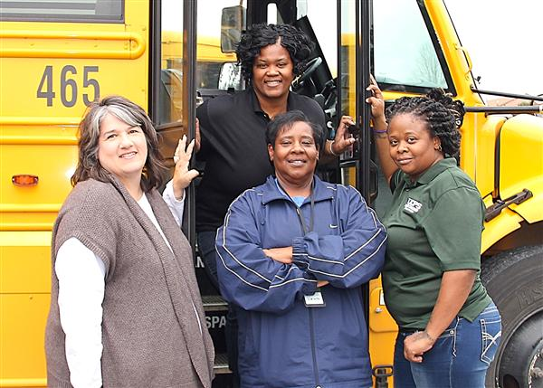 "Schools, students take time to show bus drivers they ""love the bus"""