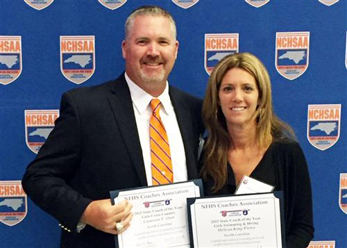 Two MRHS coaches selected as 2015 Coaches of the Year