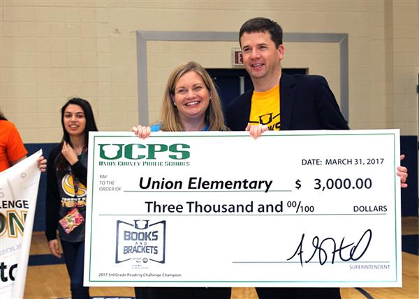 Union Elementary School is the Books and Brackets champion