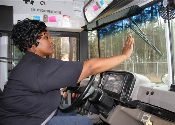 New hand signals improve communication between bus driver and students
