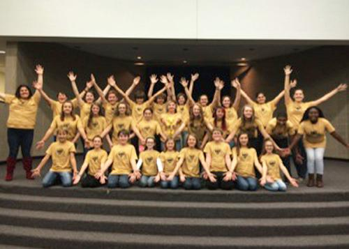 PRMS students take Disney's Lion King Jr. on the road