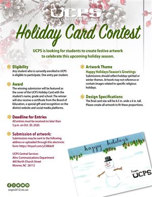 Holiday Card Contest