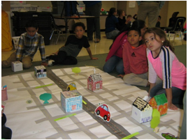 Indian Trail Town Planners Visit Second Graders