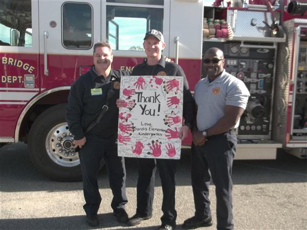 Local Firefighters Visit Sardis