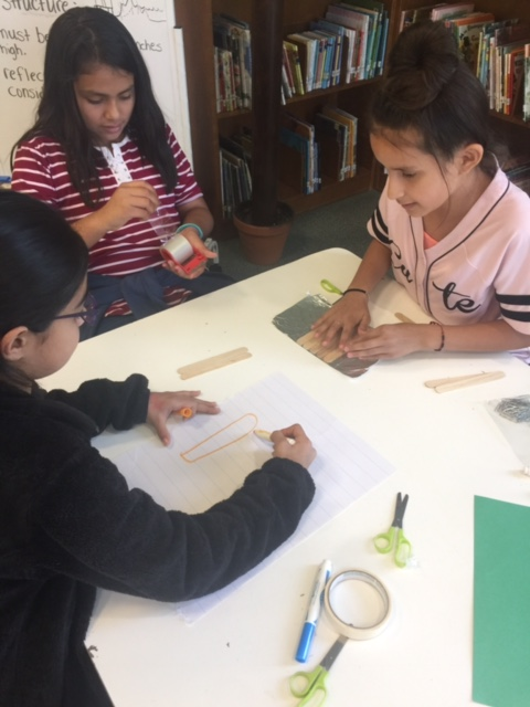 Fifth graders respond to a design challenge