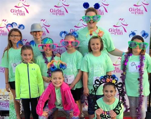 Shiloh is proud of our Girls on the Run team!