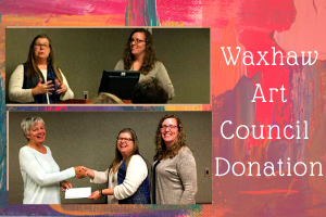 Waxhaw Art Council Donation
