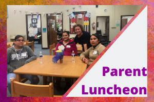 December Parent Luncheon