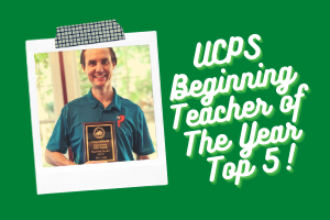 Beginning Teacher of the Year - Top 5!