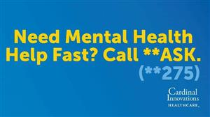 need mental help fast? Call **275