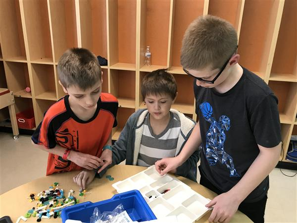 LEGO-Robotics Club Starts for the Spring