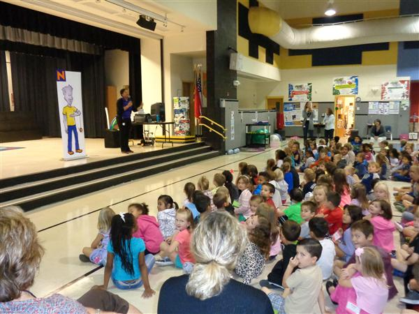 NED Show Visits Stallings