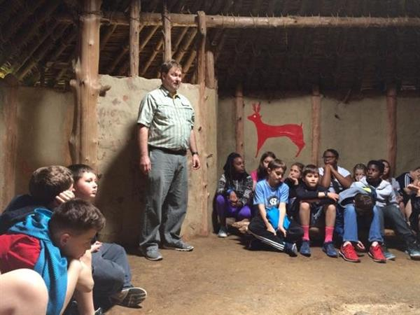 Fourth Grade Visits Historic Indian Mound