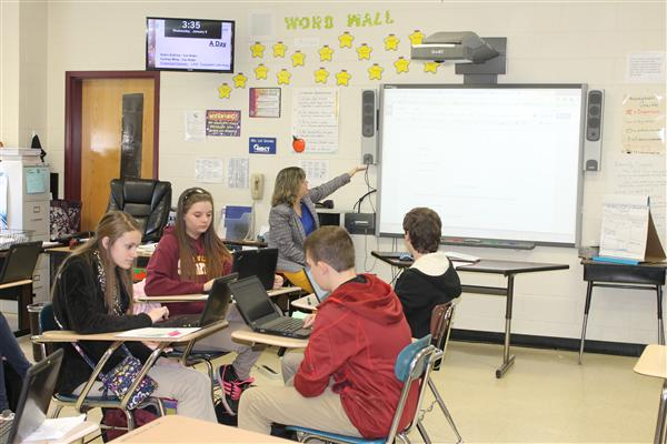 SVMS Students Research Civil War Leaders