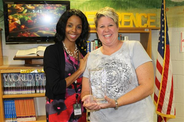 Teacher of the Year Danielle Nadata Represents SVMS