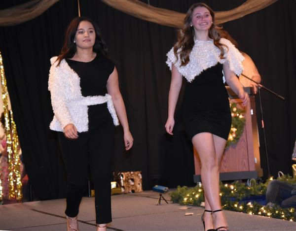 UCEC students get their fashion fix at charitable fashion show
