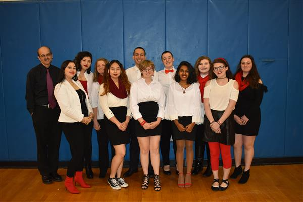 Tonality competed in NCASA's A Cappella Competition
