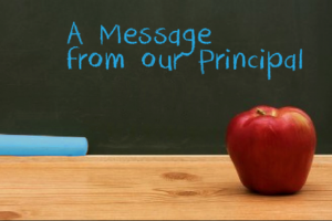 Principal's Message Newsletter
