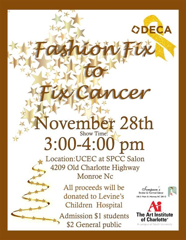 DECA Charity Fashion Show 11/28!
