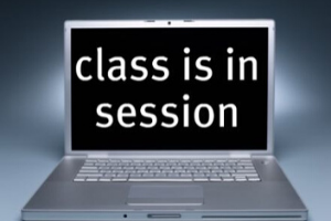 Online classroom instruction