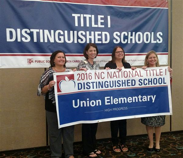 Union Elementary Recognized for Closing the Achievement Gap Between Student Groups