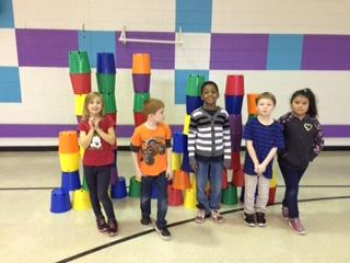 """Stacking Up Against Hunger"" Local stackers contribute food to local food bank while attempting to break Guinness World Record in sport stacking - ""Most People Sport Stacking at Multiple Locations in One Day"""