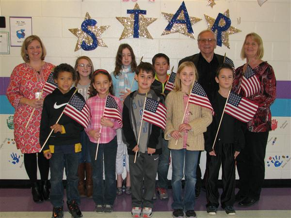 Woodmen Life Donates Flags
