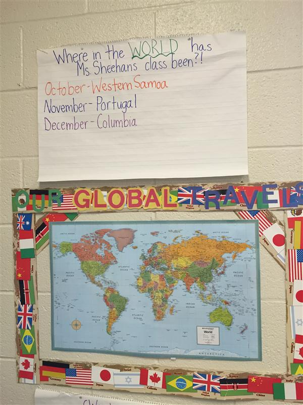 Travel with Ms. Sheehan's Class