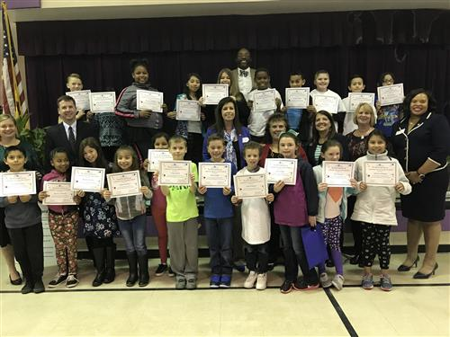 Union Elementary graduates UCPS' inaugural class of the Young Bankers Club
