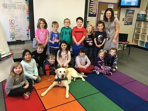Union had special visitor, Fire Dog Camden