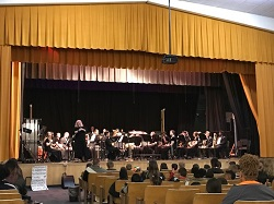The second grade students of Union County attend the Fred Ingold Music Festival concert, held at For