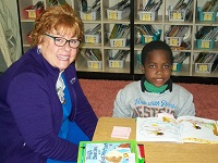 Tutor Mate Volunteers Visit First Grade Classrooms