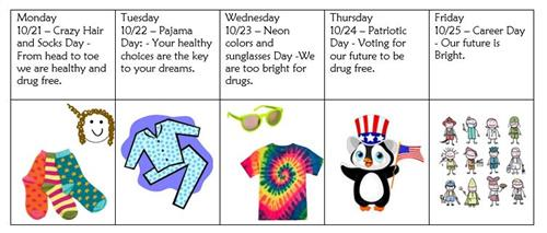 Red Ribbon Week Graphic
