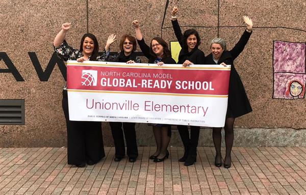 Unionville Elementary receives state recognition for global education