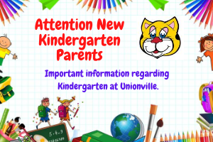 New Kindergarten Parent Info