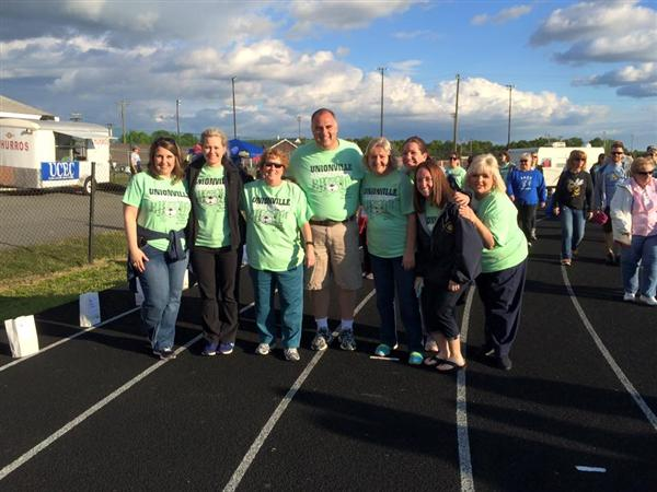 Unionville Raises $5,711 for Relay For Life