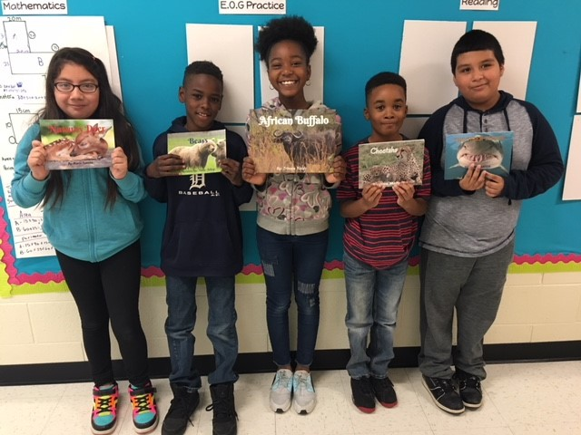 Ms. Clarke's Authors