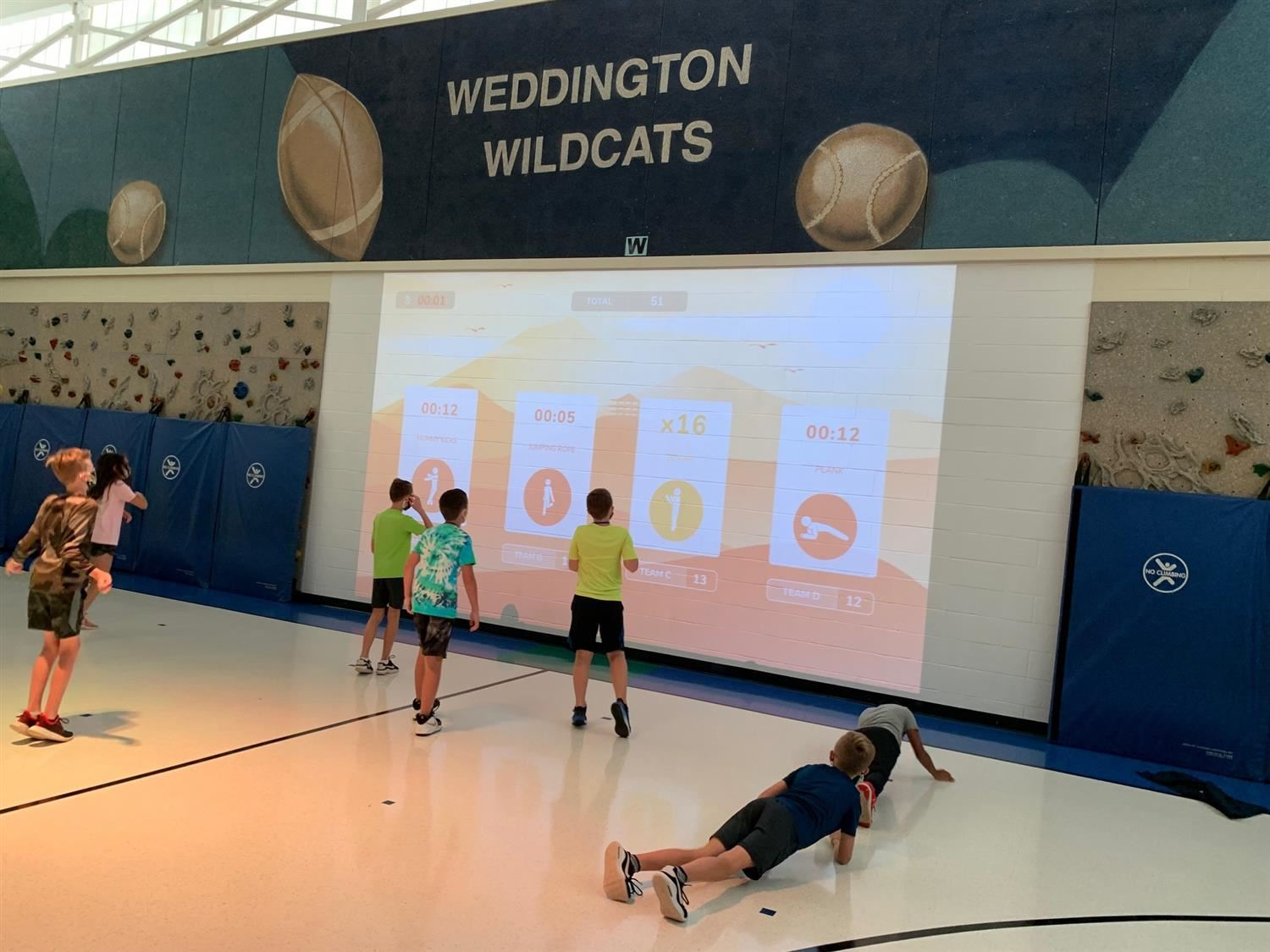 WDES Gym of the 21st Century