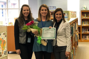 2019-2020 Teacher of the Year  Mrs.Laura Pierce