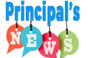 Principal's Prowl Newsletter