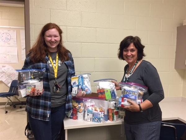 Beta Club helps the homeless