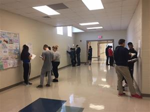Earth Science students learn about hurricanes