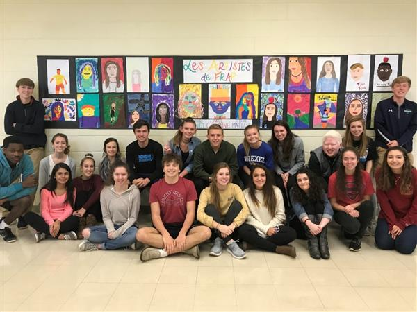 AP Students Learn about French Art