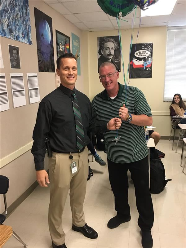 Mr. Tim Higgins- WHS Teacher of the Year!