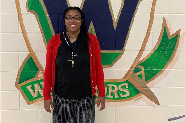 Warriors welcome Mrs. Marlo Kelly