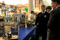NC Agriculture Commissioner and students share their passion for agriculture at districtwide event