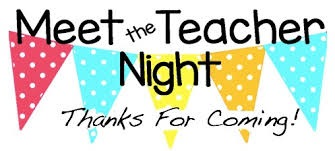 Huge Success... Meet the Teacher Night!