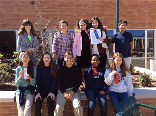 WMS makes its first appearance in the Southwest Piedmont District National History Day Competition.