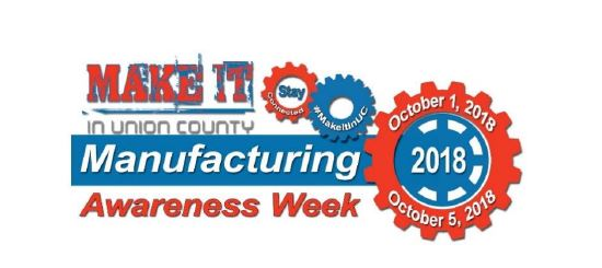 Calling all makers!  Here's your chance to visit Union County's technology and manufacturing powerhouses!